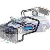 Система охлаждения Ford Mondeo Форд Мондео 2013--