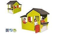 Будинок Садовий з кухнею-барбекю, дзвінком, 185х109х148 см, 3+ Simba Smoby