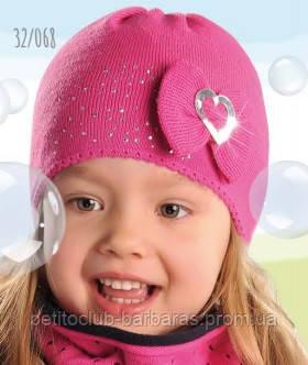 шапка демисезонная для девочки