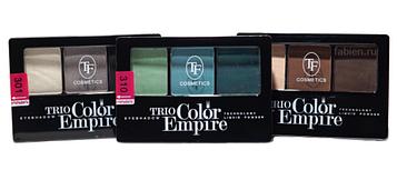 "TF тени ""Trio Color Empire "" трехцветные"