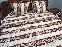 Постельное белье бязь люкс - двуспальный комплект (0784)