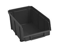 Ящик пластиковый 702 ЧЕРНЫЙ, с размерами ДхШхВ 155х100х75 мм