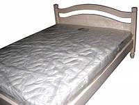 Кровать двуспальная Ассоль из натурального дерева