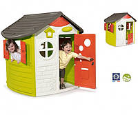 Будинок лісника зі ставнями та ключем, 124x117x132 см, 2+ Simba Smoby