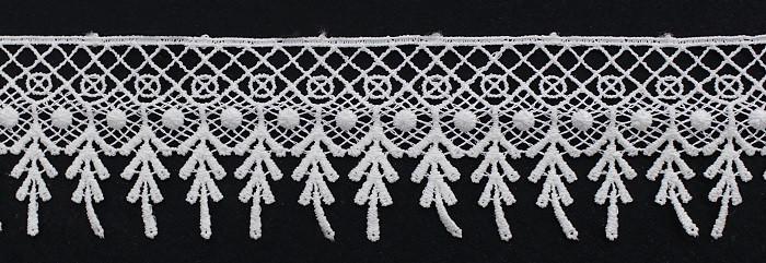 Кружево арт 1277 крем Турция.