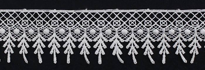 Кружево арт 1277 крем Турция., фото 2