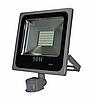 Светодиодный прожектор 50 Вт с датчиком движения и датчиком света smd2835 6500К