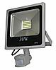 Светодиодный прожектор 30 Вт с датчиком движения и датчиком света smd2835 6500К