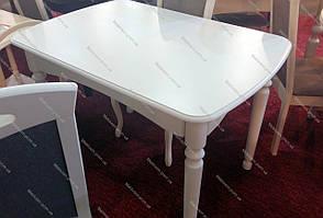 Стол обеденный белый на кухню Кельн Модуль Люкс. Стол  Поло, фото 2