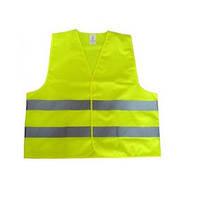 Жилет жовтий 120г/см сертифікат EN471 ( пакет ) / EL 100 594 (шт.)