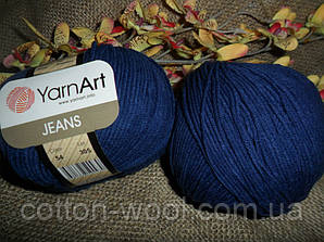 YarnArt Jeans (Ярнарт Джинс) 54 чернильный