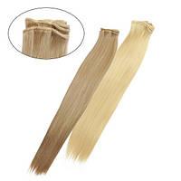 Искусственные волосы на трессах Гладкий шелк 45 см Lady Victory 100г LDV SHW-CS /09-7