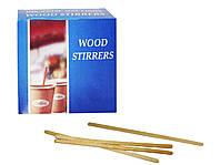 Одноразовые деревянные палочки для кофе (1000 шт.)