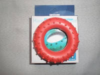 Эспандер кистевой кольцо с шипами, резина, нагрузка - 15 кг, индивидуальная упаковка