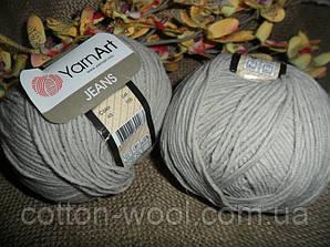 YarnArt Jeans (Ярнарт Джинс) 49 светло-серый