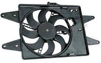 Вентилятор радiатора Fiat Doblo 1,6 16V - 1,9 D (2000-2005) без кондицiонеру