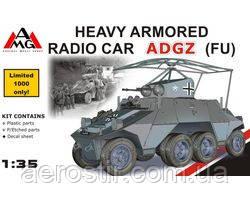 Тяжелый бронированный автомобиль ADGZ [late]       1\35      AMG Models 35502