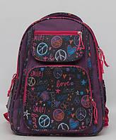 Школьный рюкзак для девочки. Рюкзак с ортопедической спинкой. Новый рюкзак. Прочный рюкзак. Код: КТМ240., фото 1