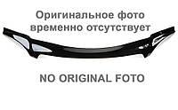 Дефлектор капота, мухобойка GAZ Газель 2002- /косые фары