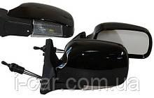 Бічні дзеркала Ваз 2104,2105,2107 колір чорний з повторювачем повороту