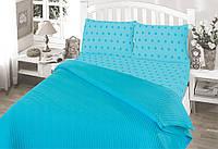 Летнее постельное белье пике  Perlay Turkuaz