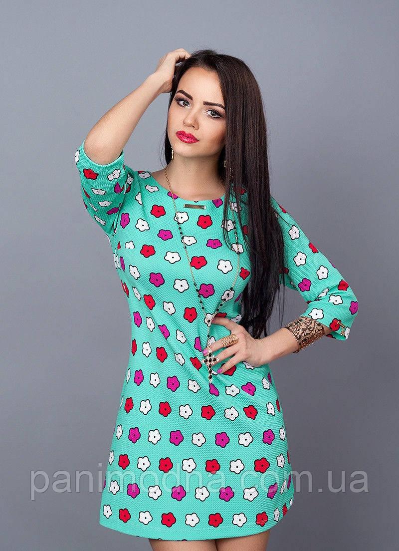 """Модное весеннее платье  - """"Инара"""" НОВИНКА  код 237"""
