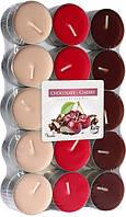 Вишня-шоколад свечи ароматизированные 30 шт