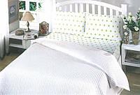 Летнее постельное белье пике  Perlay Beyaz