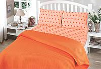 Летнее постельное белье пике  Perlay Oranj