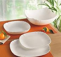 Набор посуды Lotusia White 18 приборов