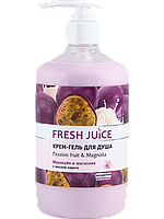 Гель для душа Passion fruit & Magnolia 750мл Fresh Juice