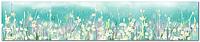 Стеклянный фартук для кухни - скинали Цветы