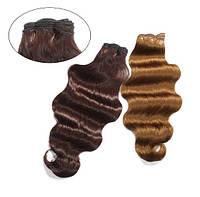 Искусственные волосы на трессах Свободная волна 50 см Lady Victory 100г LDV SHW-CW 04-8