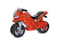 Мотоцикл каталка 2-х колесный красный Орион 501
