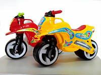 Мотоцикл каталка с ручкой для переноски Kinder Way
