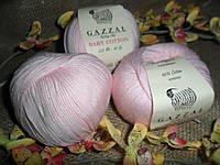 Gazzal Baby Cotton (беби коттон) 3411 нежно-розовый
