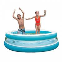 Детский надувной бассейн Intex 57489 Морская волна 203x51 см