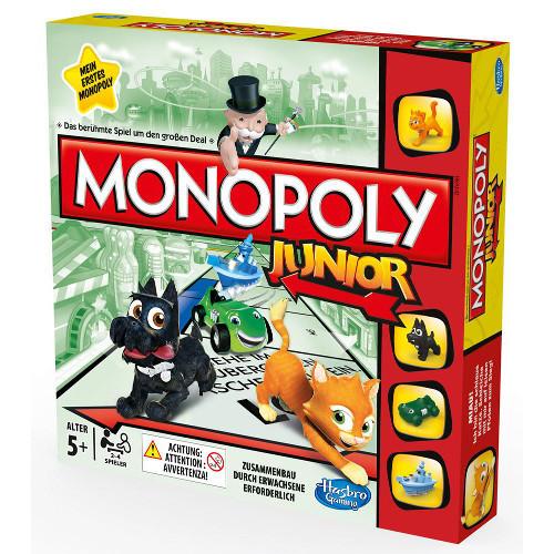 """Настольная игра Hasbro """"Моя первая монополия"""""""