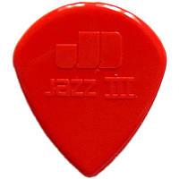 Медиатор Dunlop 47R3N Eric Johnson Signature Jazz III Red 1.38 mm