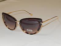Солнцезащитные очки DIOR коричневая пятнистая оправа 751055