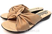 Кожаные тапочки Belsta