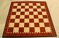 Доска картонная для игры в шахматы, шашки