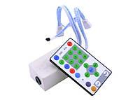 Контроллер IR RGB 12А RW 3LED (27 buttons), 12V, 3А/канал, 144W
