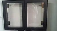 Дверка каминная двухстворчатая внешняя (650х450)