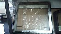 Дверка каминная внешняя нержавейка (550х500)