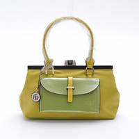 Желтая-зеленая сумка женская Velina Fabbiano