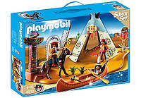 Конструктор Playmobil 4012 Лагерь индейцев, фото 1