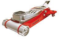 Домкрат T830002L Torin подкатной алюминиевый 3.0т HEAVY DUTY низкопрофильный с двойной помпой 100-465 мм