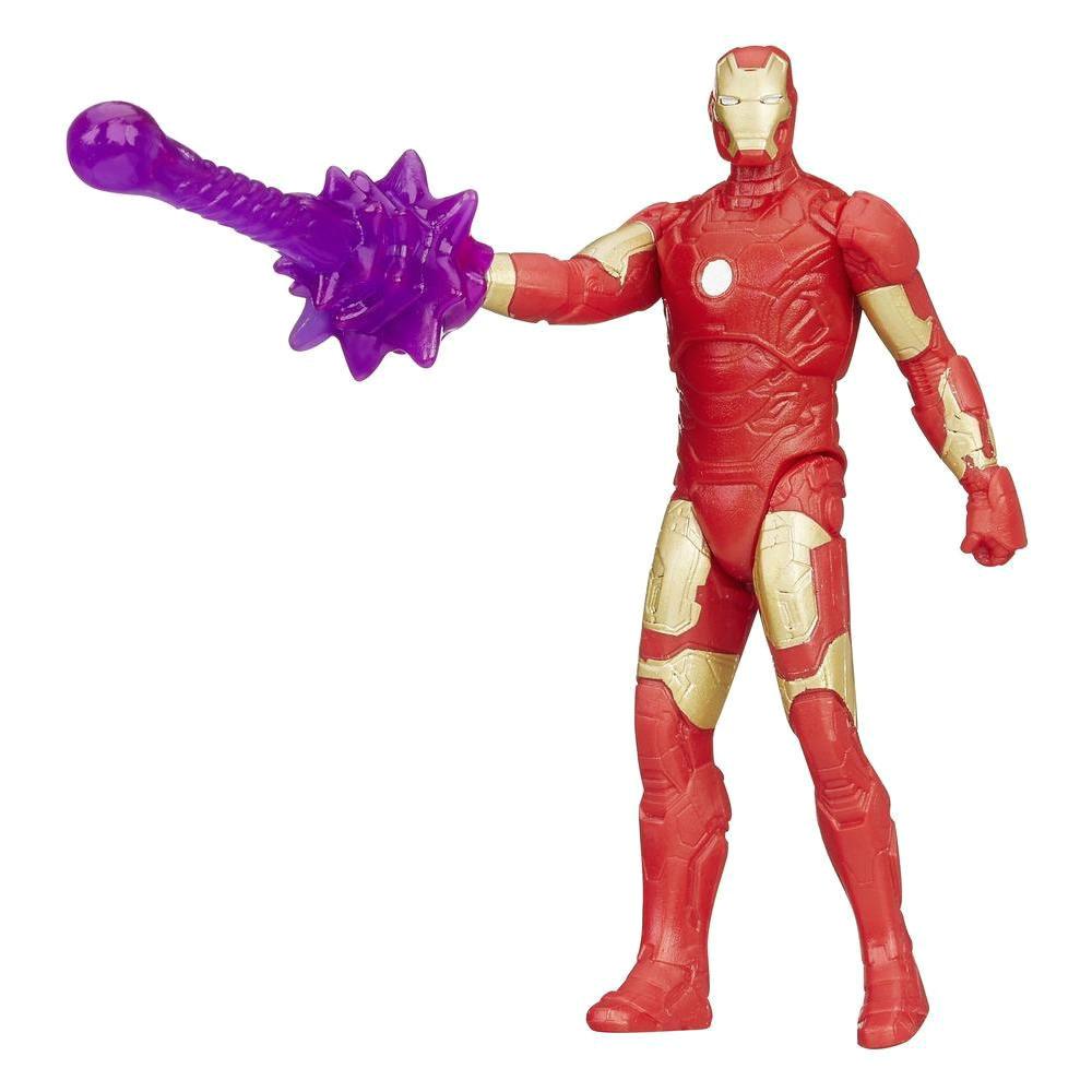 Фигурка Железный человек (Iron Man) высотой 10 см. Оригинал Hasbro B0976/B0437