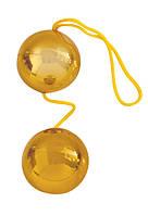 Шарики вагинальные Balls золотые